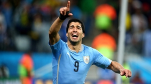 Luis Suarez could grace the Aviva Stadium with his presence next June