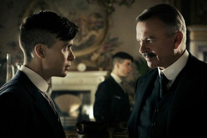 Sam Neill and Cillian Murphy in Peaky Blinders