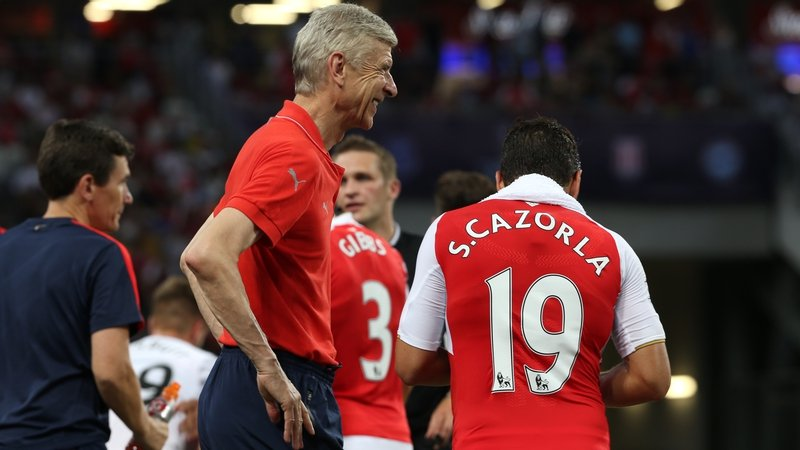 Image result for Wenger and Cazorla