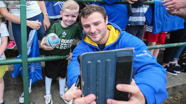 Robbie Henshaw will make his first appearance for Leinster