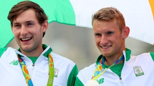 Silver medallists from the Rio Games, Paul and Gary O'Donovan