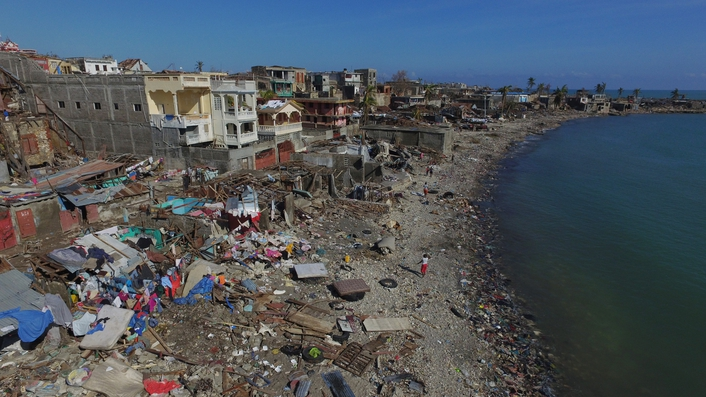 Calls for aid as Haiti faces cholera outbreak following Hurricane Matthew