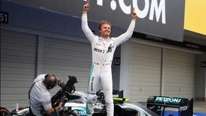 Nico Rosberg is on the verge of claiming the F1 driver's championship