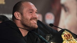 Tyson Fury is aiming to make a comeback this year