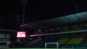 The calm before the storm - Stadionul Zimbru lies in wait.