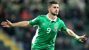 Shane Long put Ireland in front in the early moments of the game