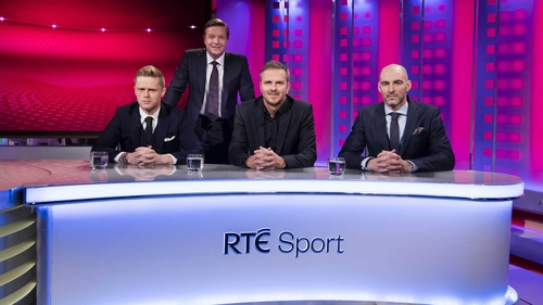 Darragh Maloney and the panel are moving to Tuesday nights