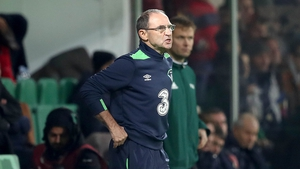 He may not look it, but Martin O'Neill is a happy man
