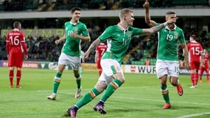 James McClean's second goal of the game made sure of the points for Ireland