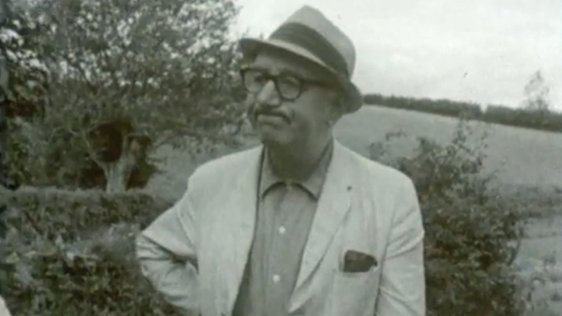 Patrick Kavanagh on Inniskeen Road (1966)
