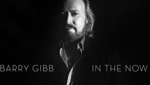 Barry Gibb who released his first solo album, In the Now, in 2016