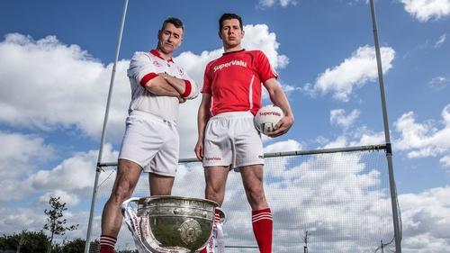 Mattie McGleenan (left) takes over at Cavan
