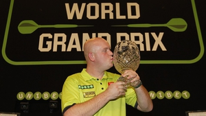 Van Gerwen was in top form against Anderson in Dublin