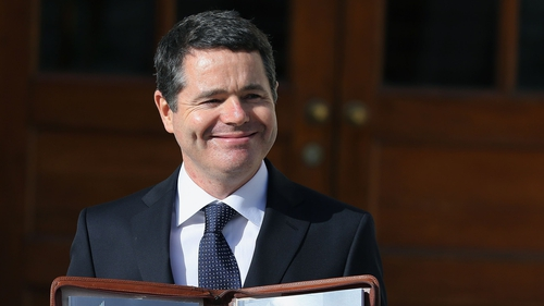 Paschal Donohoe said this increase must be factored into future wage determination