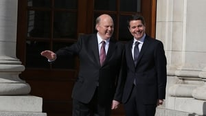 Ministers Michael Noonan and Paschal Donohoe presented Budget 2017