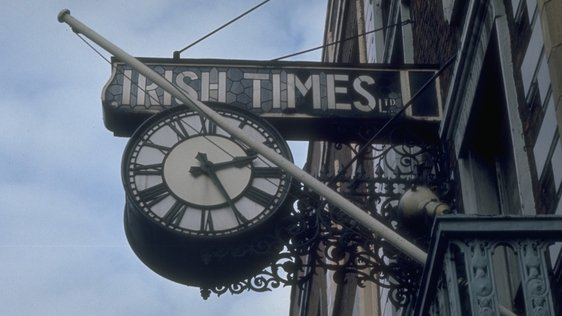 Irish Times Clock