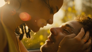 Newcomer Sasha Jane and Shia LaBeouf in American Honey