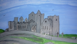 Pictured: The Rock of Cashel by Helen Bowes