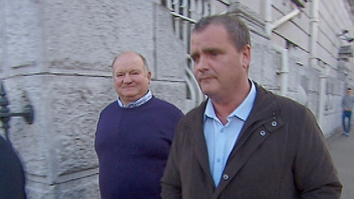 Leonard Hyde and Pat O'Mahony were remanded on bail