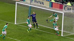 Georgia dominated for long spells against Ireland
