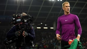 Joe Hart fell out of favour at Man City as Pep Guardiola felt the goalkeeper's ball-playing skills from the back weren't good enough