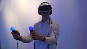 Virtual reality is now a real consumer product according to Sony