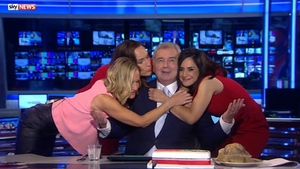 Eamonn Holmes announced he was quitting his job on Sky News back in September