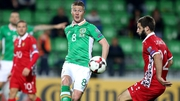 James McCarthy helped Ireland to wins over Georgia and Moldova