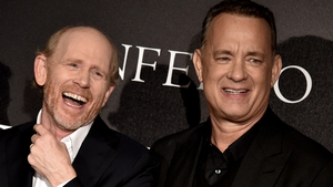Ron Howard, with his Inferno star and frequent collaborator Tom Hanks