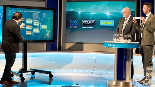 The draw was made at RTÉ studios