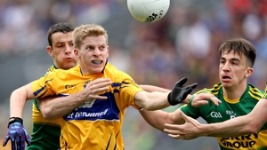 Podge Collins on football duty for Clare against Kerry