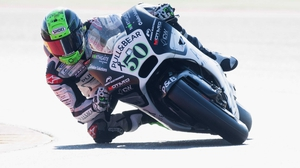 Eugene Laverty is recovering from a bad tumble