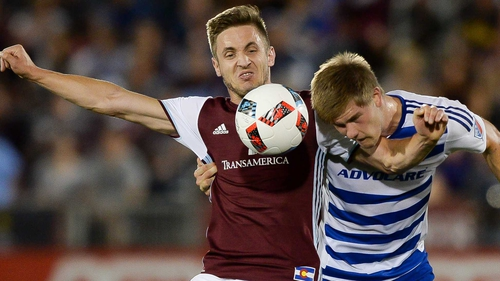 Kevin Doyle's side face the return leg this weekend