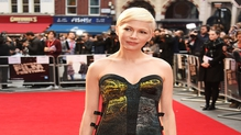 Today, Sunday October 16 is the last day of the annual British Film Institute London Film Festival. We saw a whole host of A-list stars walking the carpet but Michelle Williams definitely stood out for us.