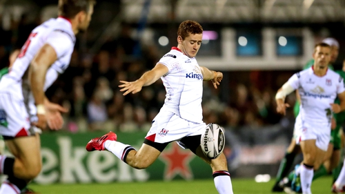 Les Kiss said there had been interest abroad in Paddy Jackson before he signed his new two-year deal.