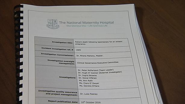National Maternity Hospital report on death of Malak Thawley