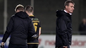 Stephen O'Donnell goes off injured while boss Stephen Kenny is not impressed