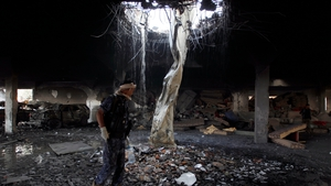 The air strike on 8 October prompted an international outcry