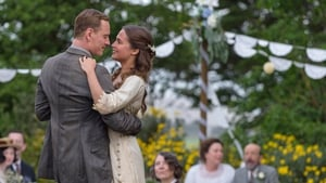 Tom and Isabel's wedding party. Fassbender and Vikander shine in The Light Between the Oceans