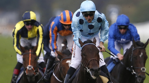Almanzor (c) follows up brilliantly on his Champions Day success at Leopardstown