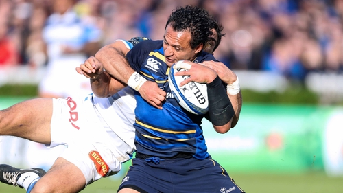 Isa Nacewa will lead Leinster against Montpellier