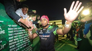 Bundee Aki has played a starring role for Connacht since joining two years ago