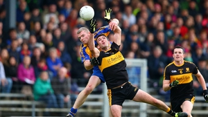 Action from the Kerry football final where Dr Crokes defeated Kenmare District