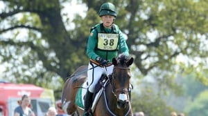 Camilla Speirs and Portersize Just a Jiff in action today