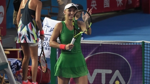 Caroline Wozniacki was taken to three sets in the final
