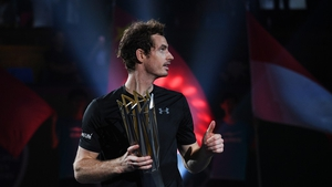 Andy Murray eased to a two-set win in China