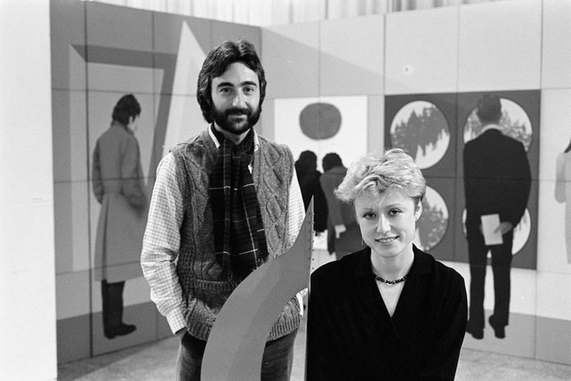 John Hutchinson and Moya Doherty (1983)
