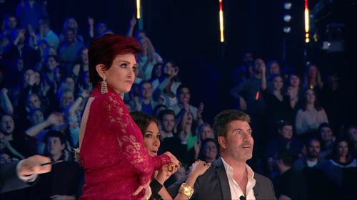 Sharon Osbourne has denied she was drunk on the X Factor