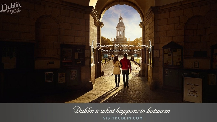 'Dublin is what happens in between': ad campaign launches to attract British tourists