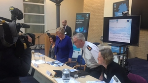 Frances Fitzgerald was speaking at the launch of the Anti-Human Trafficking Plan